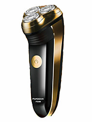 Electric Shaver Mustaches & Beards Electric Rotary Shaver Shaving AccessoriesPivoting Head LED Light Ergonomic Design Wet/Dry Shaving