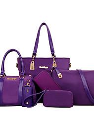 Women Nylon Casual Bag Sets