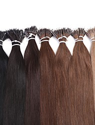 Neitsi 20'' 25g/lot 1g/s Nano Ring Tipped Straight Human Hair Extensions