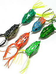 """1 pcs Señuelos duros Señuelos blandos / Vinilos Cebos Señuelos duros g/Onza mm/2-1/4"""" pulgada,Plástico duroPesca de baitcasting Pesca en"""
