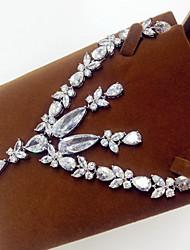 Schmuckset Zirkon Silber Halsketten Ohrringe Für Party 1 Set Hochzeitsgeschenke
