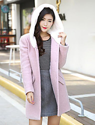Simple Cute Coat Long Sleeve Long