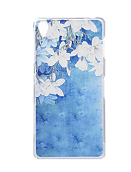 For SONY Xperia Z5 Z3 Case Cover Flower Pattern Back Cover Soft TPU