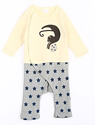 Baby Casual/Daily Print One-Pieces,Cotton Spring / Fall