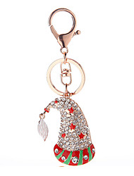Key Chain Key Chain Red / Green / Silver Metal