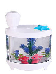 Fish Tank LED Light Humidifier Air Diffuser Purifier Atomizer essential oil diffuser difusor de aroma mist maker fogger Aquarium
