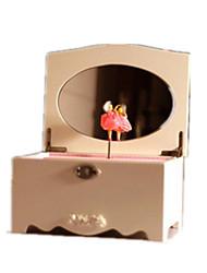 музыкальная шкатулка замок в небе Дерево Золотистый Для мальчиков Для девочек