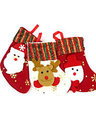 Christmas Gifts Christmas Party Supplies Gift Bags 3 Christmas Textile