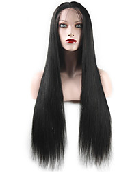 100% Brazilian Full Lace Wig Glueless Human Hair Lace Front Straigt Wig long Hair Wig With Baby Hair For Black Women