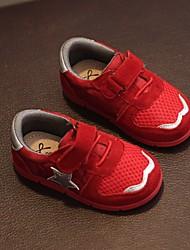 Para Meninos-Rasos-Primeiros Passos-Rasteiro-Preto Vermelho-Pele-Casual