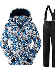 Ski Wear Clothing Sets/Suits Kid's Winter Wear Polyester Fashion Winter Clothing Thermal / Warm Comfortable Snowsports Fall/Autumn Winter