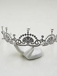 Damen Kubikzirkonia Kopfschmuck-Hochzeit Besondere Anlässe Tiara 24 Teile