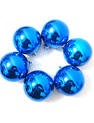 Christmas Decorations Christmas Party Supplies Holiday Supplies 2 Christmas Plastic Blue