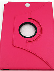 T350 Lychee Pattern Rotation Stent Strap Flat Leather P350 Sleep Protection Cover