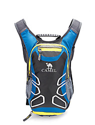 CAMEL 15L Traveling Mountaineering Hiking&Camping Backpack Color Black/Blue