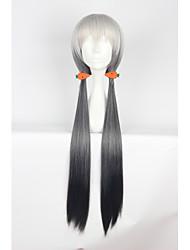 Pelucas de Cosplay Cosplay Cosplay Blanco Largo Animé Pelucas de Cosplay 85cm CM Fibra resistente al calor Mujer