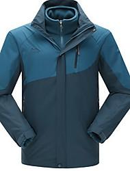 Mulheres Homens Blusas Acampar e Caminhar Esportes de Neve Corrida Impermeável Térmico/Quente A Prova de Vento Isolado Confortável