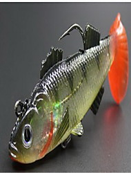 1 pcs Hard Bait Fishing Lures Hard Bait Random Colors Hard Plastic Sea Fishing