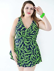 High Quality Plus Size Women One Pieces Swimwear Free Wire 4 Colors Swimsuit