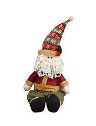 Christmas Toys / Gift Bags Holiday Supplies Santa Suits Textile Dark Red All