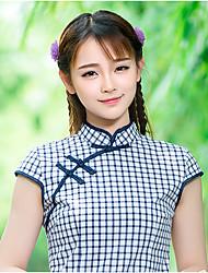 знак 2016 лето новый начального уровня мягкой мэн сестра сеном женский ретро улучшилось Cheongsam платье