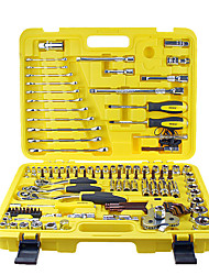 REWIN TOOL Automotive Servic 122pcs Dr.socket Wrench Set Professional Maintenance Set Tool