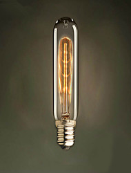 E14 40W  Test Tube T18 Edison Light Bulb Small Lo Lo Retro Light Source