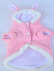 Dog Costume Pink Dog Clothes Spring/Fall Solid Casual/Daily