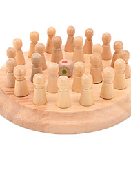 Assemblage & Dextérité Kong Ming verrouillage Nouveaux Jouets Circulaire Bois Arc-en-ciel Kaki Pour Garçons Pour Filles5 à 7 ans 8 à 13
