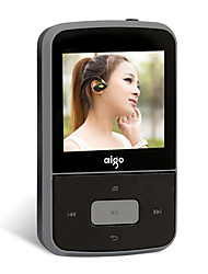 Aigo MP3 MP3 WMA WAV OGG Bateria Li-on Recarregável