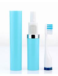 portátil à prova d'água adultos crianças escova de dentes escova de ultra-som escova de dentes elétrica branqueamento de proteção 3
