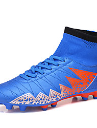 Men's Athletic Shoes Spring Summer Fall Winter Comfort Fabric Outdoor Athletic Blue Yellow Purple Soccer