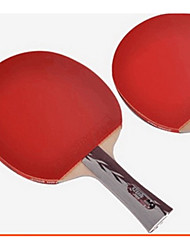 4 Stars Table Tennis Rackets Ping Pang Rubber Long Handle Pimples Indoor
