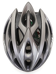 Unisex Bike Helmet N/A Vents Cycling Cycling / Mountain Cycling / Road Cycling / Recreational Cycling One Size EPS+EPU Gray / Black