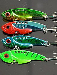 1 pcs VIB Hard Bait Fishing Lures Hard Bait Random Colors Metal Sea Fishing