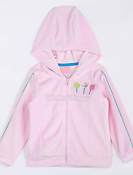 Girl Casual/Daily / Sports Solid Sets,Cotton Spring / Fall Clothing Set