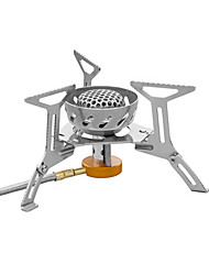 Stainless Steel Stove Backpacking Stoves Fire Starter Single Camping BBQ Hiking Outdoor Picnic