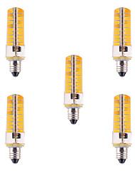 7W E11 LED Mais-Birnen T 80 SMD 5730 500-700 lm Warmes Weiß / Kühles Weiß Dimmbar / Dekorativ V 5 Stück