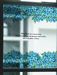 Trees/Leaves Contemporary Window Sticker,PVC/Vinyl Material Window Decoration