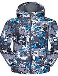 Ski Wear Tops Men's Winter Wear Winter Clothing Waterproof Breathable Thermal / Warm Windproof WearableSkiing Skating Running Backcountry