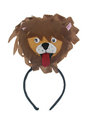 Headpiece Inspired by Cosplay Cosplay Anime Cosplay Accessories Headpiece Brown Cotton Male / Female / Kid