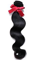 EVET Brazilian Virgin Hair Body Wave 6A 1pc /lot 100% Unprocessed Human Hair Weft Brazilian Body Wave