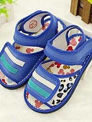 Kids' Girls' Baby Sandals Comfort Cotton Casual Comfort Ruby Blue Flat