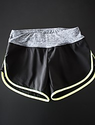 Fitness Hot Pants Yoga Pants Breathable Stretch Liner Quick-Drying