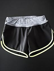 фитнес горячие штаны йога штаны дышащая стрейч подкладка быстро сохнет