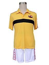 Inspiré par Prince of Tennis Cosplay Anime Costumes de cosplay Costumes Cosplay Couleur Pleine Manches Ajustées Short Pour Masculin