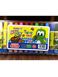 12 - couleur peinture à l'huile stylo dole éducation artistique brosse crayon d 'enfant