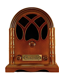 Music Box Castle in the Sky Sweet / Special / Creative Wood Brown For Boys / For Girls