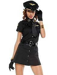 Costumes de Cosplay Blanc / Noir Térylène Accessoires de cosplay Halloween / Carnaval / Fête d'Octobre