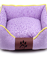 Dog Bed Pet Mats & Pads Casual/Daily Purple Fabric